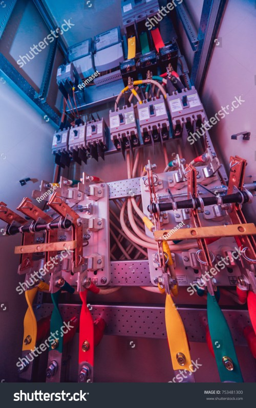 small resolution of wires and switches in electric box electrical panel with fuses and contactors background and