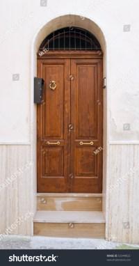 Wooden Frontdoor Stock Photo 53349022 - Shutterstock
