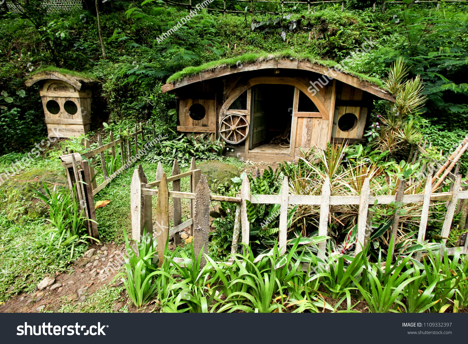 Wooden Hobbit House