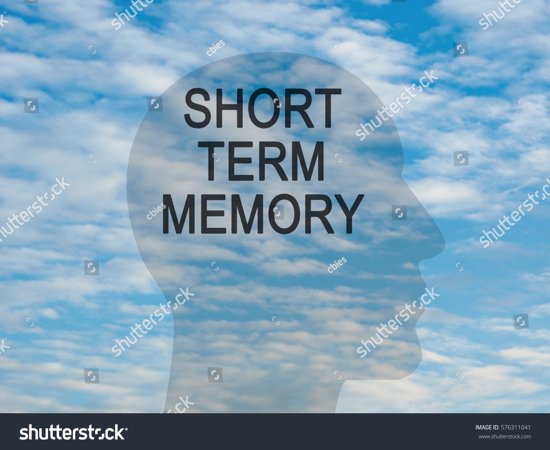 Words Short Term Memory On Transparent Stock Illustration