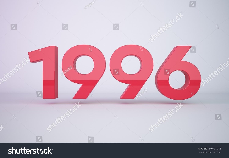 Year 1996 Stock Photo 340721276 : Shutterstock
