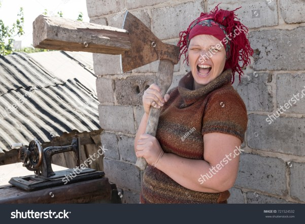 Crazy Russian Girl on Shutterstock