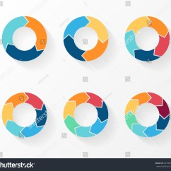 3 Arrow Circle Diagram Ceiling Pull Switch Wiring Uk 4 5 6 7 8 Stock Vector 227888002 Shutterstock