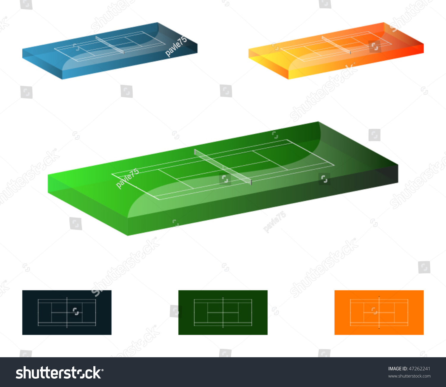 measurement of tennis court with diagram rj11 wiring uk 3d courts grass clay and hard base diagrams