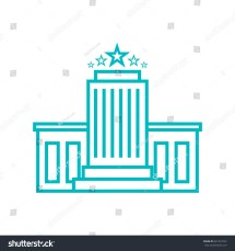 Hotel Icon Vector Stock 601233752 - Shutterstock