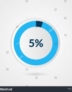 percent blue grey and white pie chart percentage vector infographics circle diagram business also stock royalty free rh shutterstock