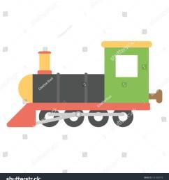 steam engine cartoon retro train or train engine vector icon in flat design [ 1425 x 1600 Pixel ]