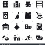 16 Vector Icon Set Building Japanese Stock Vector Royalty
