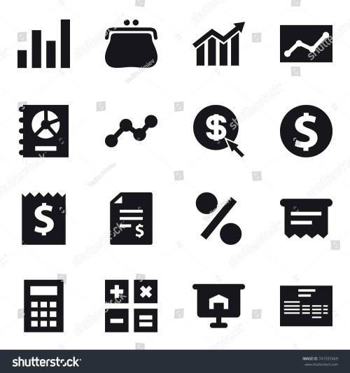small resolution of 16 vector icon set graph purse diagram statistic annual report