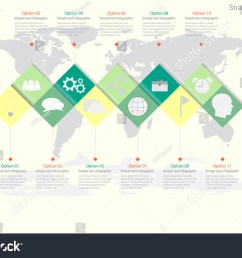 world map timeline vector infographics with icon options and flow diagram vector eps10 illustration [ 1500 x 1050 Pixel ]