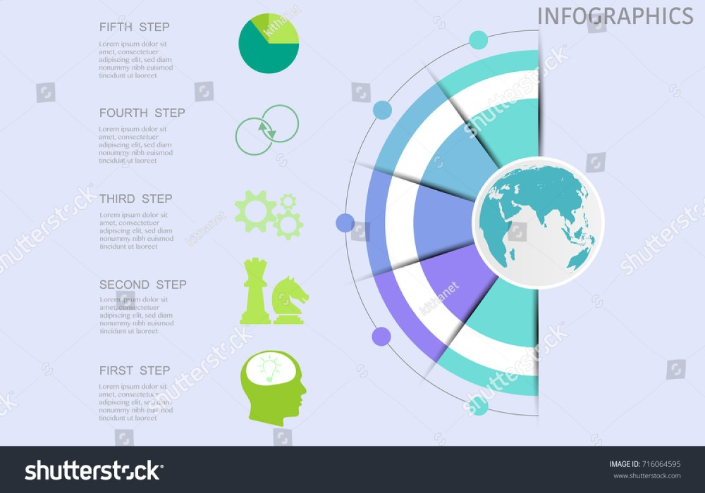 medium resolution of world map timeline vector infographics with icon options and flow diagram vector eps10 illustration