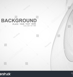 abstract business line wire wave vector whit background [ 1500 x 1225 Pixel ]