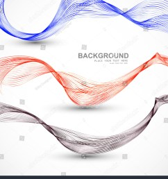 abstract different business line wire wave vector whit background [ 1365 x 1600 Pixel ]
