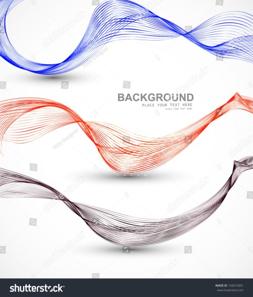 small resolution of abstract different business line wire wave vector whit background