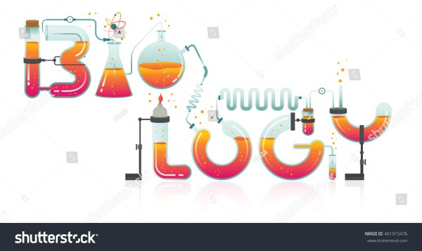 Abstract Illustration Biology Word Science Technology