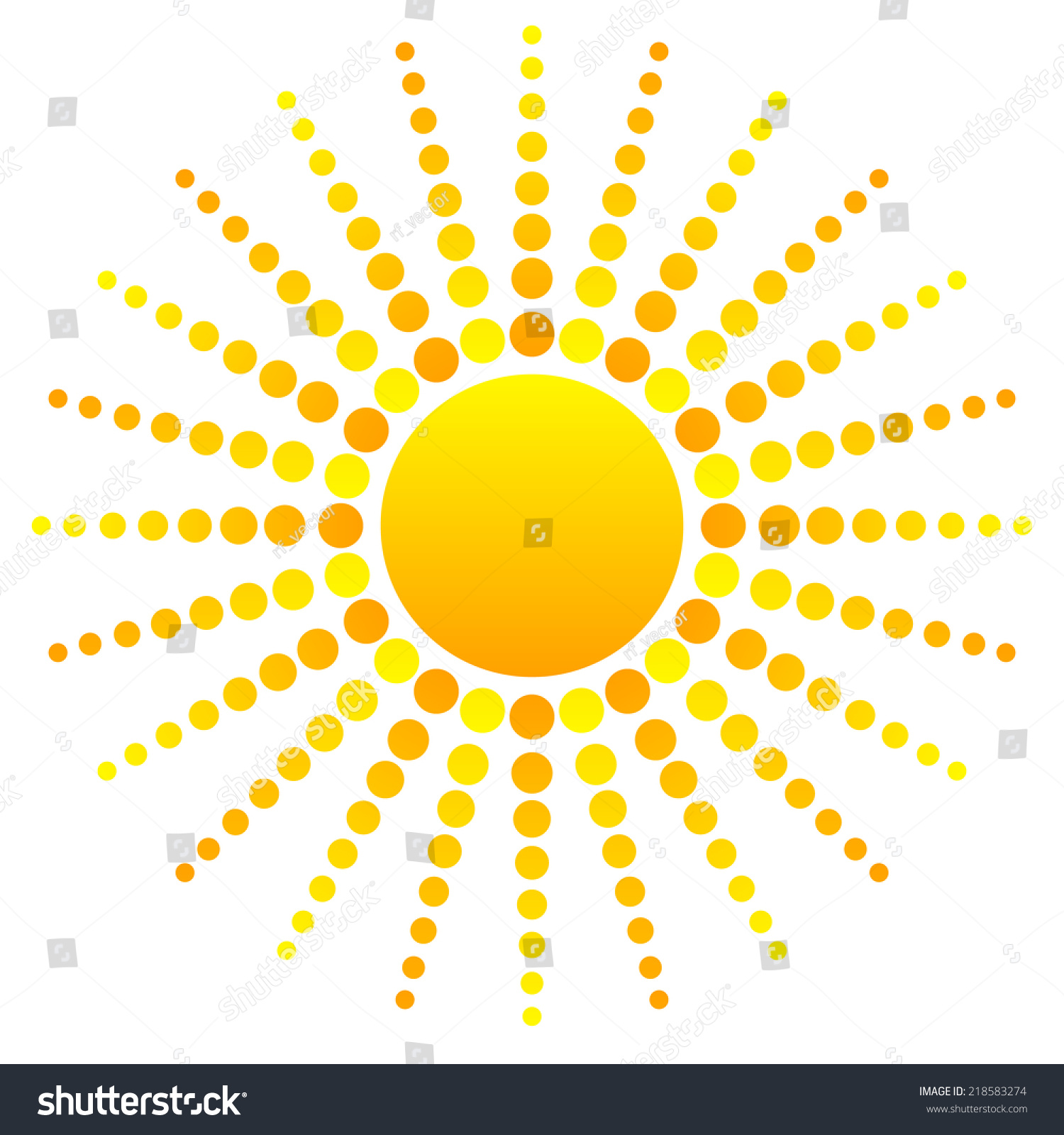 hight resolution of abstract sun clipart