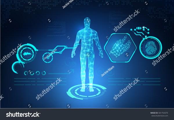 Digital Human Body Part