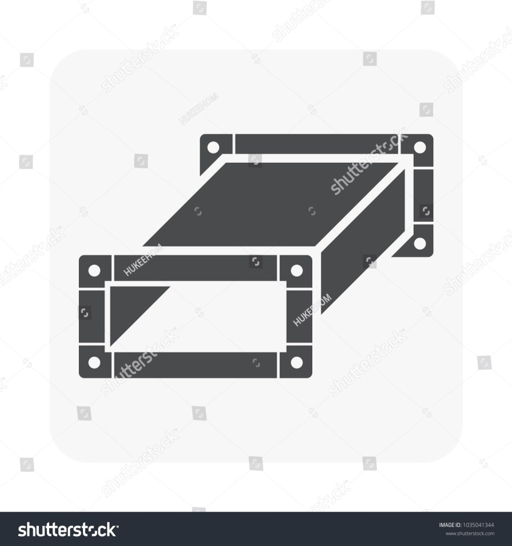medium resolution of air duct pipe icon for hvac system