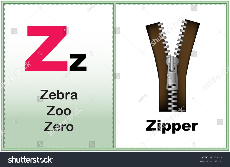 Alphabet Letter Z Clipart Few Similar Stock Vector