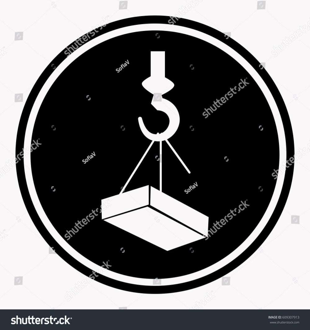 medium resolution of crane hook diagram labels wiring diagram used attention construction caution sign heavy block stock vector crane