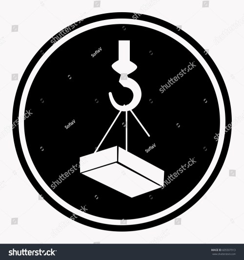 small resolution of crane hook diagram labels wiring diagram used attention construction caution sign heavy block stock vector crane