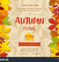 free fall festival flyer templates polarview net thanksgiving autumn background border [ 1500 x 1225 Pixel ]