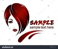 Banner Template Beauty Salon Hair Styles Stock Vector ...