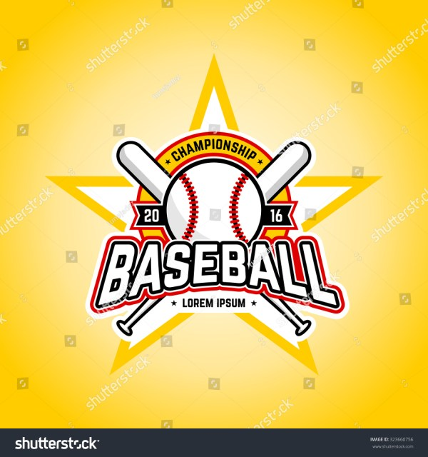 Baseball Tournament Professional Logo. Vector Design Template. - 323660756 Shutterstock