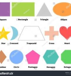 basic shapes for kids learn 2d shapes isolated on white background design elements [ 1500 x 1386 Pixel ]