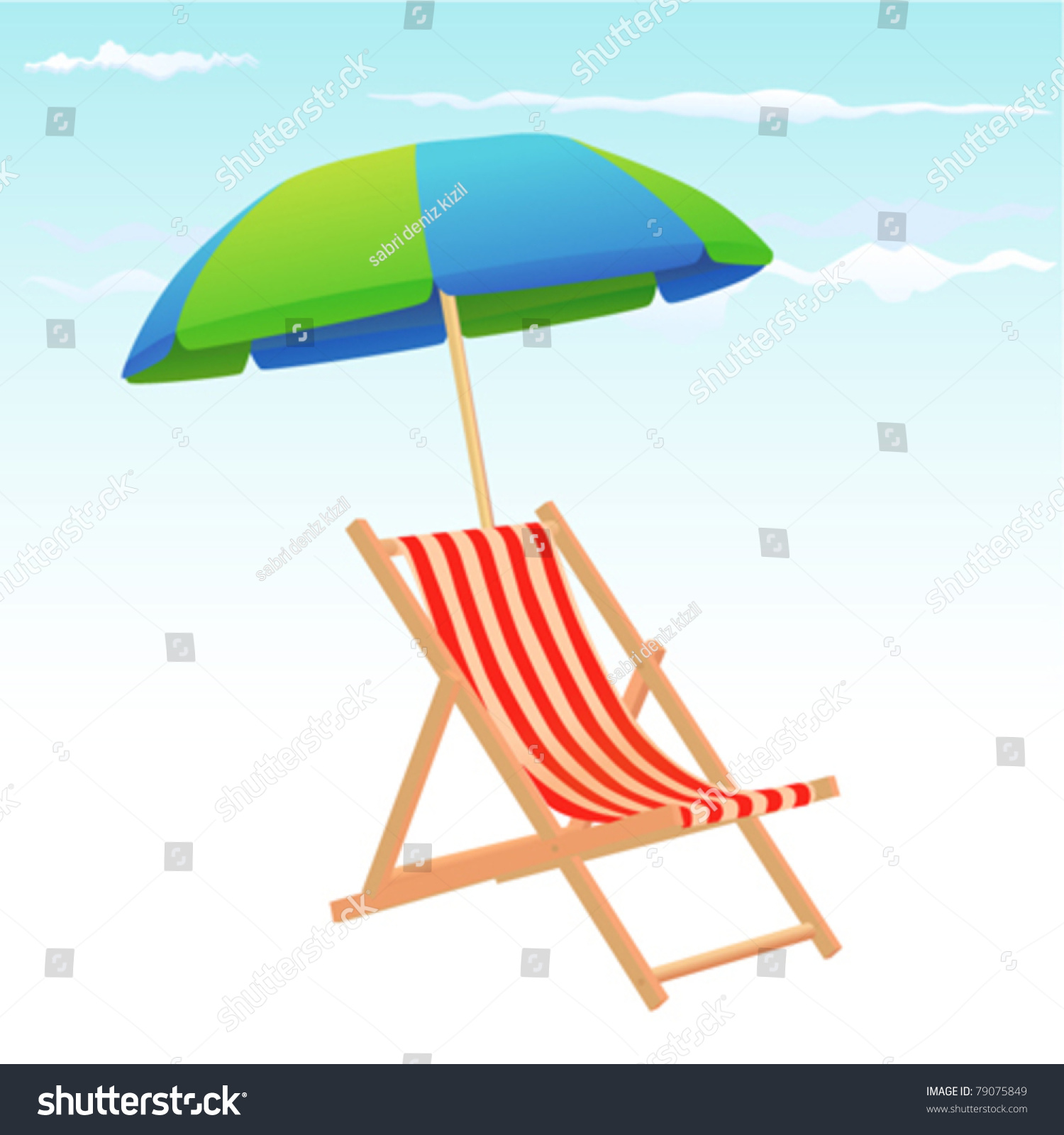 Beach Chairs With Umbrella Beach Chair And Umbrella Silhouette