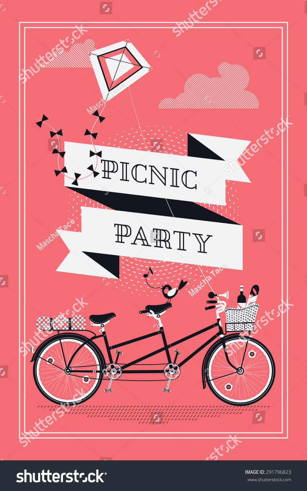 Fantastic Teddy Bear Picnic Party Invites Sketch - Invitations and ...
