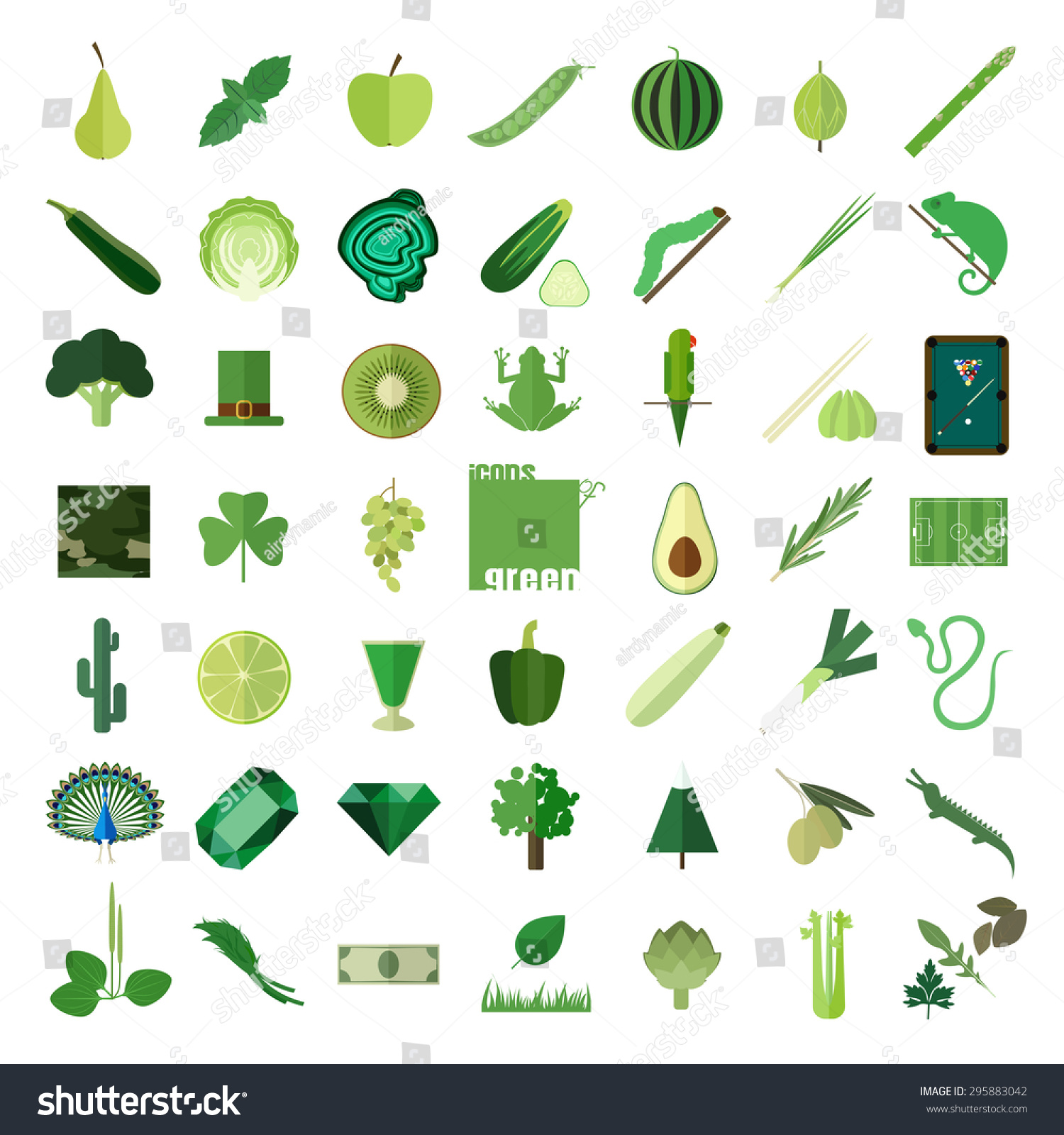 Objects That Are Green Gallery