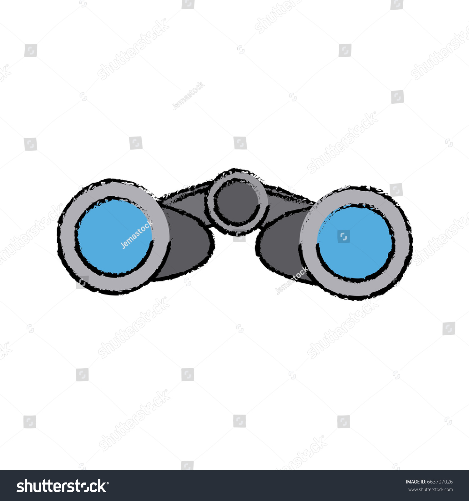 hight resolution of binoculars business element optic and lens theme front view