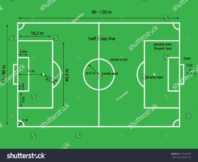 Football Stadium Football Stadium Dimensions