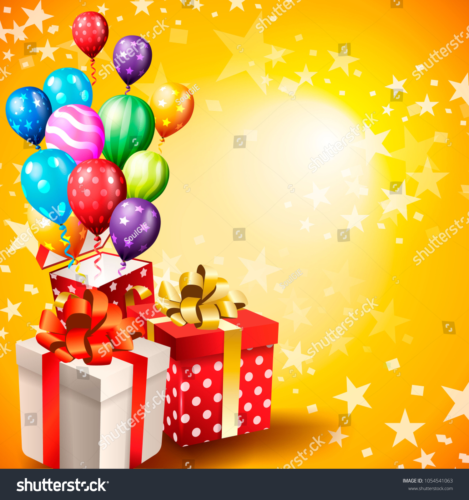 https www shutterstock com image vector birthday invitation card background 1054541063