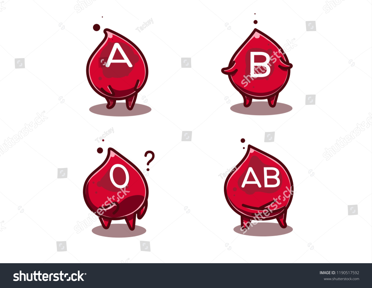 hight resolution of blood group in shiny cartoon comic style blood advertising clipart for healthcare purpose such as
