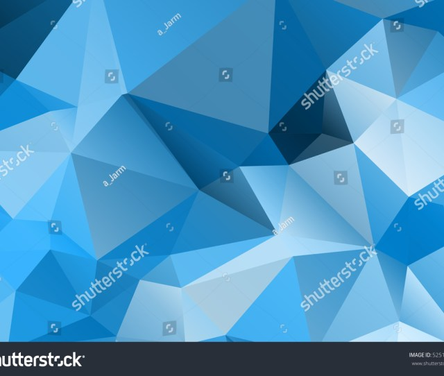 Blue Modern Geometrical Abstract Background Triangular Backdrop Bright Wallpaper Geometric Texture Colorful