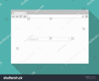 Browser Window. Browser Vector Illustration. Browser In ...
