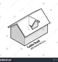 building roof type gable roof with dormer window  [ 1500 x 1420 Pixel ]