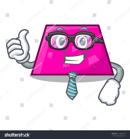 small resolution of businessman trapezoid character cartoon style
