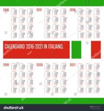 calendar 2016 2017 2018 2019 2020 2021