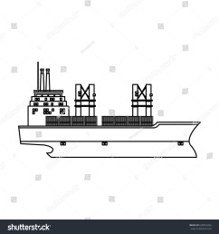 cargo ship containers export cranes industrial [ 1500 x 1600 Pixel ]