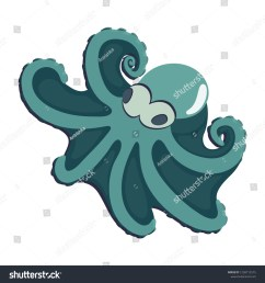 caribbean reef octopus clipart of cartoon octopus on white background cool cartoon character design animal vector illustration for zoo ad nature concept  [ 1500 x 1600 Pixel ]