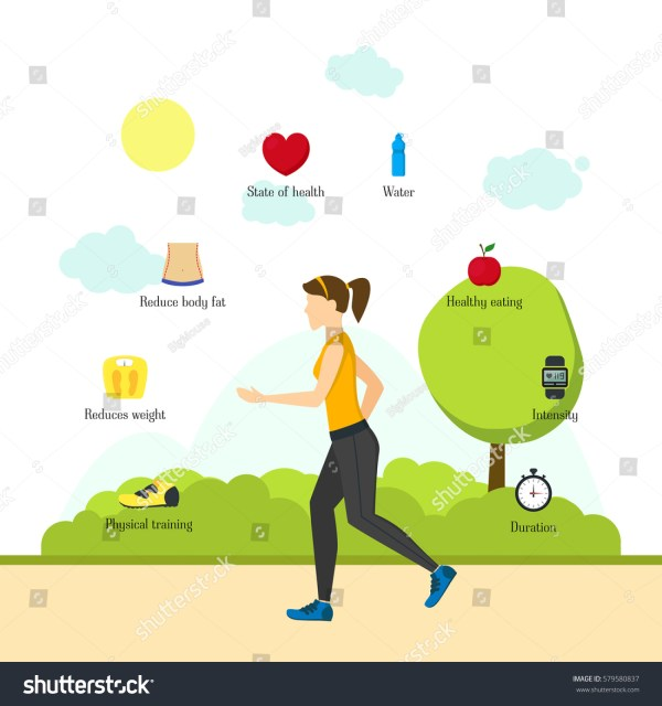 Health Exercise Cartoon