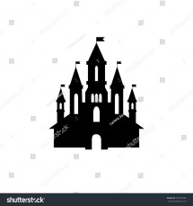 Princess Castle Silhouette