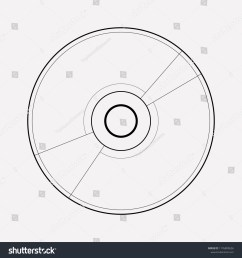 cd disk icon line element vector illustration of cd disk icon line isolated on clean  [ 1500 x 1600 Pixel ]