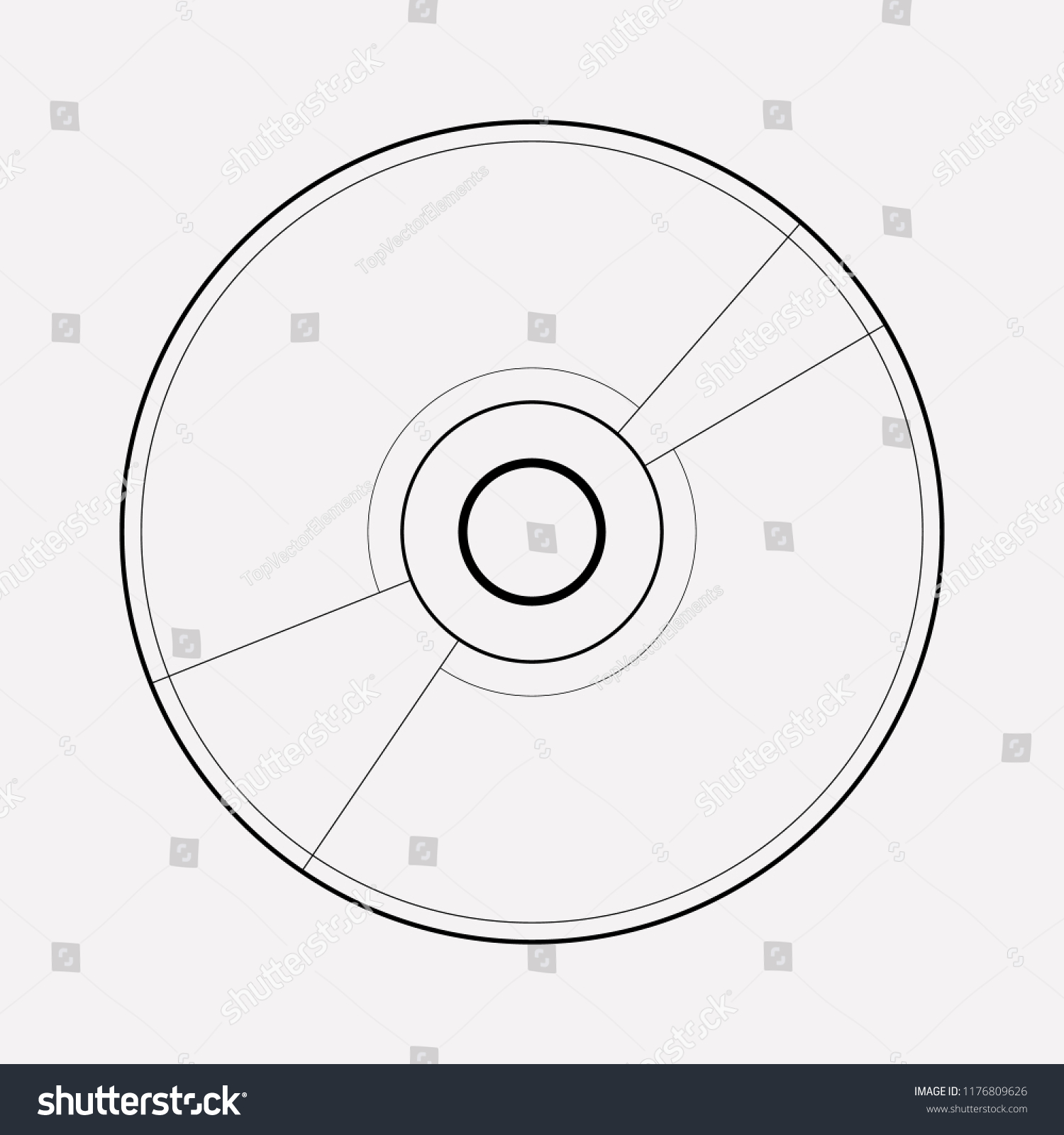 hight resolution of cd disk icon line element vector illustration of cd disk icon line isolated on clean