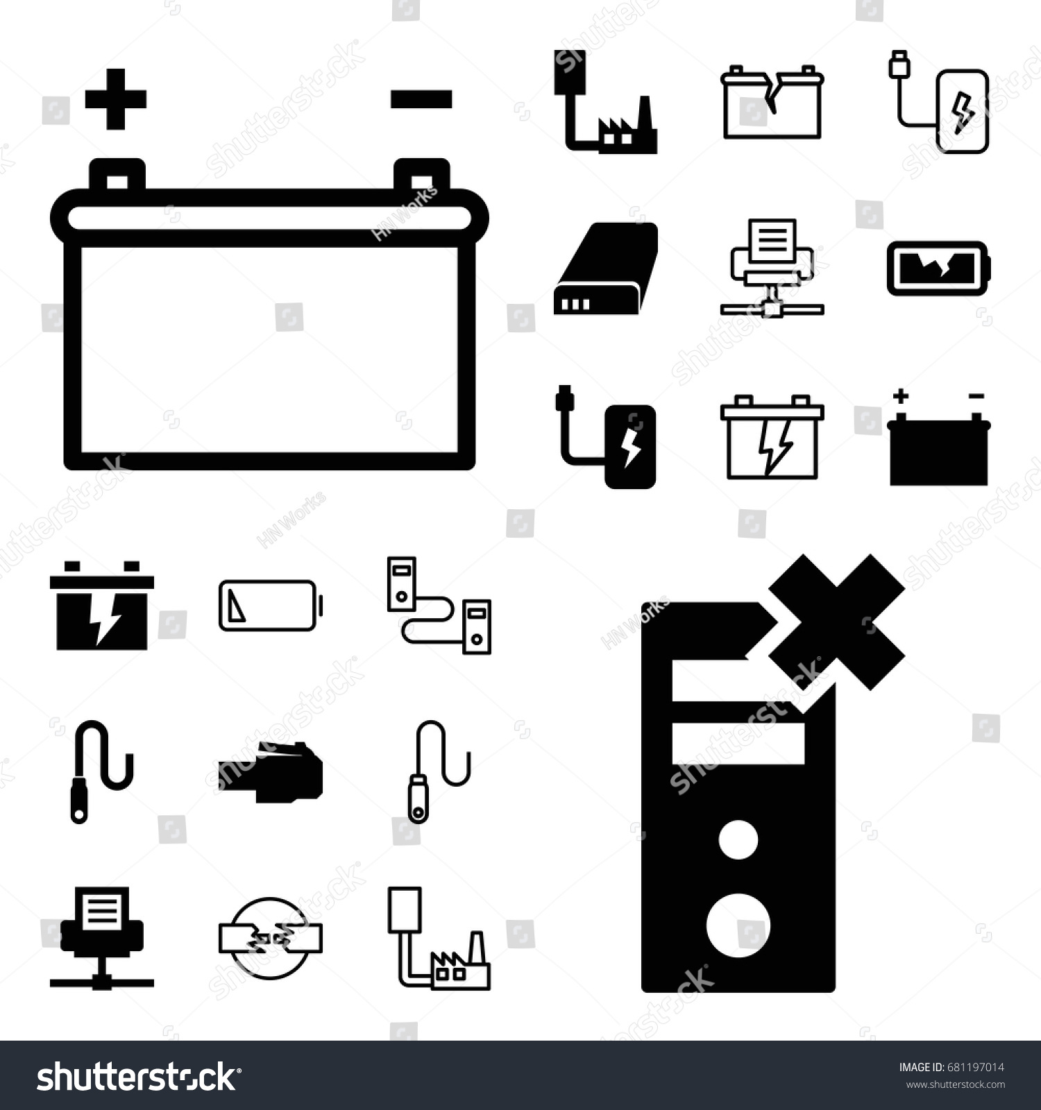 hight resolution of charger icon set of 20 charger filled and outline icons such as battery wire
