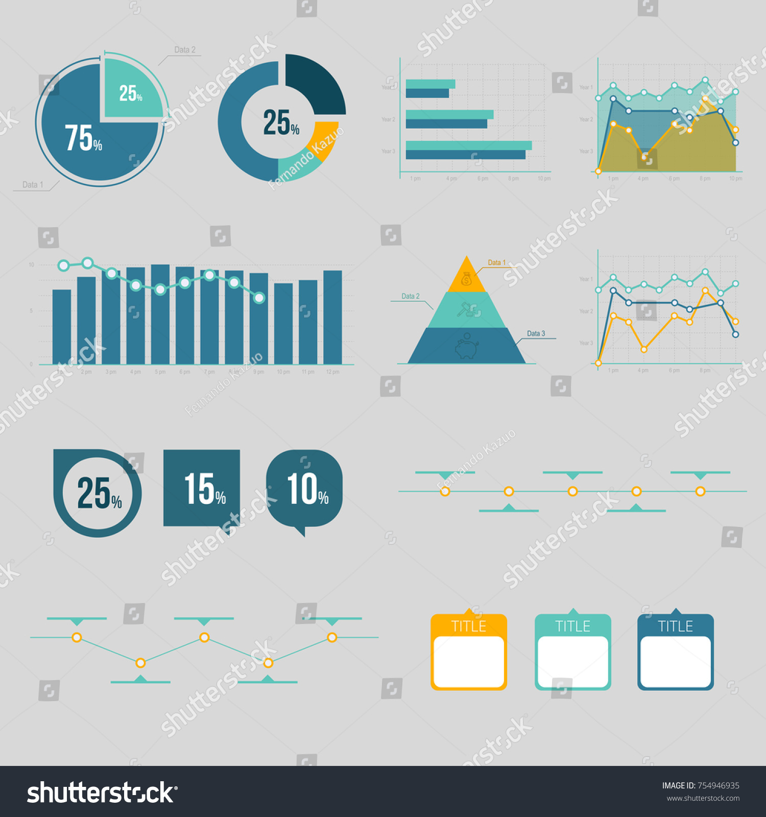 hight resolution of chart and graphic business diagram data finance graph report information data statistic
