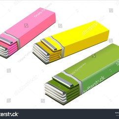 Diagram For 5 Gum Wide Area Network Visio Chewing Isolated Vector Version Stock 100652377
